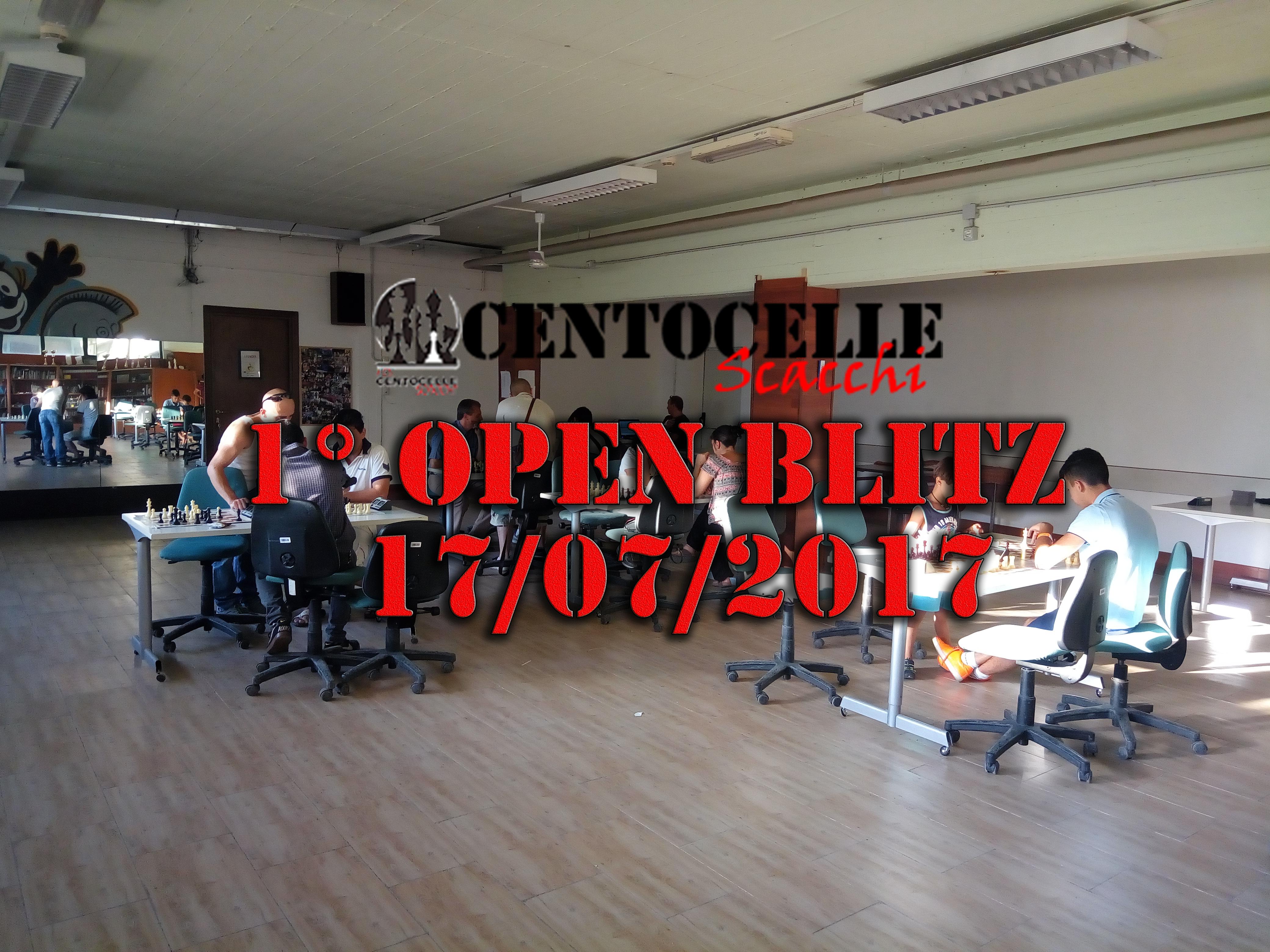 1° Open Blitz 2017
