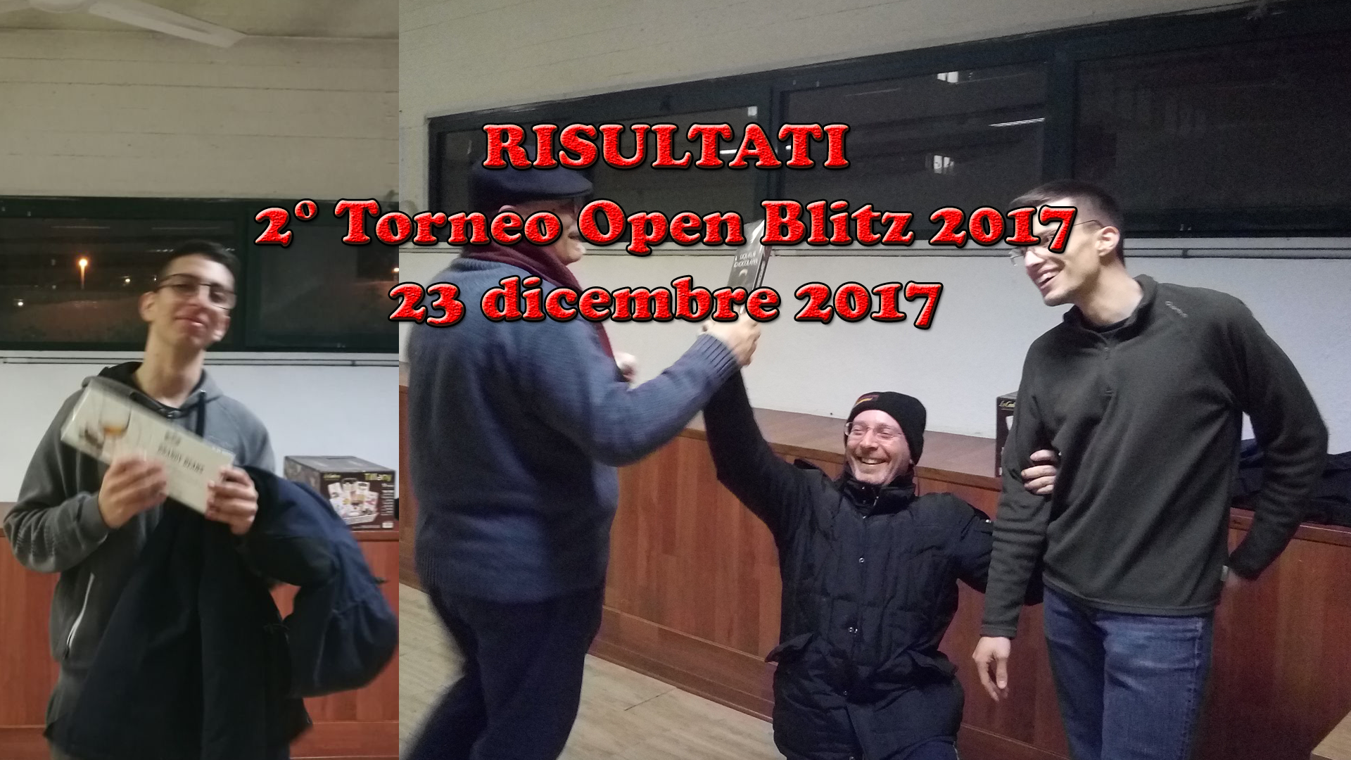 RISULTATI – 2° Torneo Open Blitz 2017