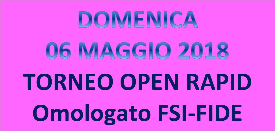 Semilampo FIDE 06/05/2018