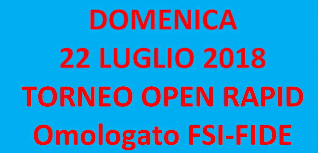 Semilampo FIDE 10/06/2018