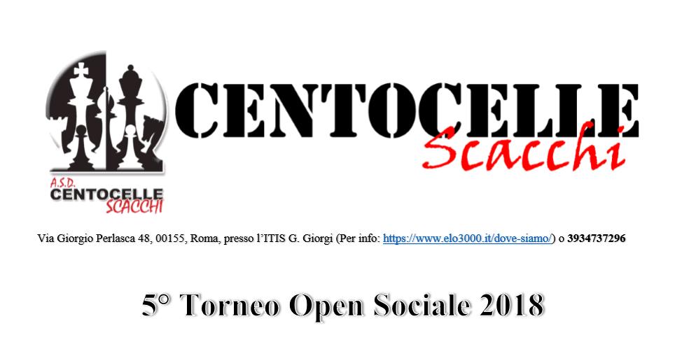 5° Torneo Sociale 2018