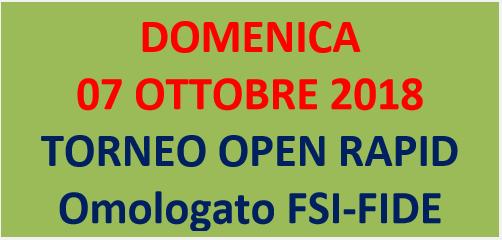 Semilampo FIDE 07/10/2018