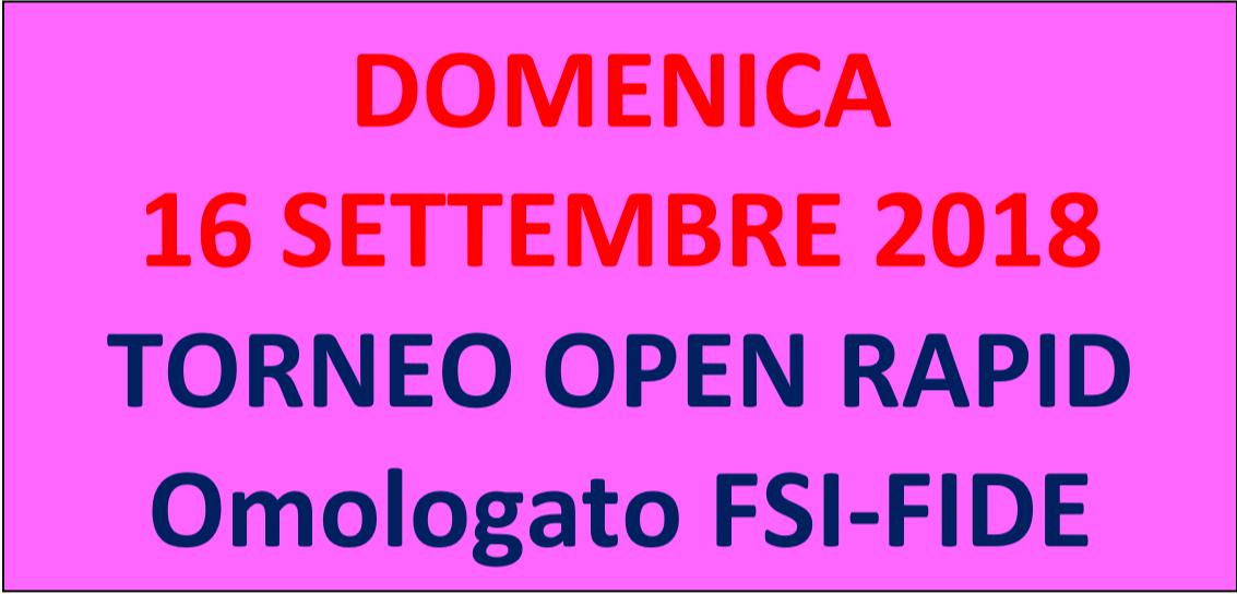 Semilampo FIDE 16/09/2018